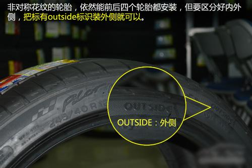 轮胎花纹分类及安装小知识